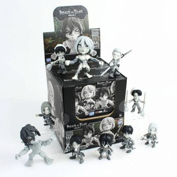 Action Vinyls: Attack on Titan - Grayscale Mini Figures Blind Box