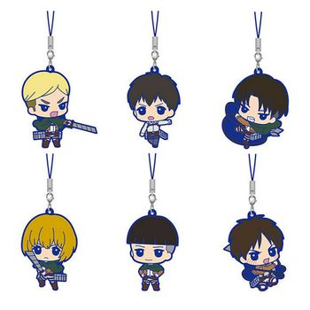 Attack on Titan - Mascot Strap Gashapon Assortment