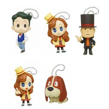 Professor Layton - Minifigures Gashapon Assortment