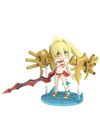 Petitrits: Fate/Grand Order - Caster/Nero Claudius Plastic Model Kit