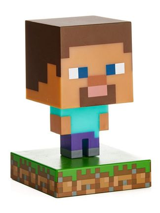 Minecraft - Steve Icon Light, 10cm