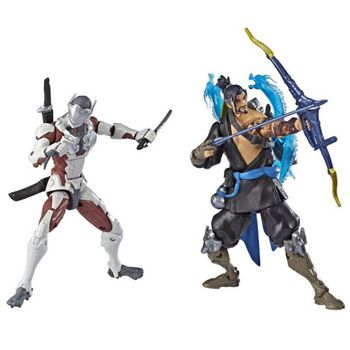 Overwatch: Ultimates 2-Pack - Genji and Hanzo Action Figures, 15cm