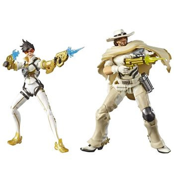 Overwatch: Ultimates 2-Pack - Tracer and McCree Action Figures, 15cm