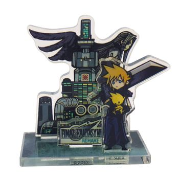 Final Fantasy VII Remake - Cloud and Sephiroth Mini Acrylic Stand
