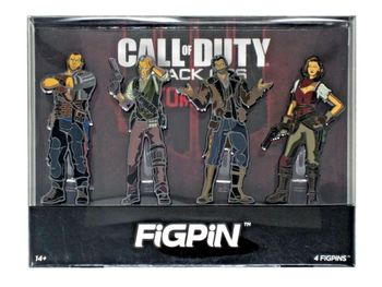 FigPins 4-Pack: Call of Duty: Black Ops - Zombies Heroes Exclusive Set