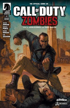 Comics Dark Horse: Call f Duty - Zombies Issue #1 incl. Poster, Paperback