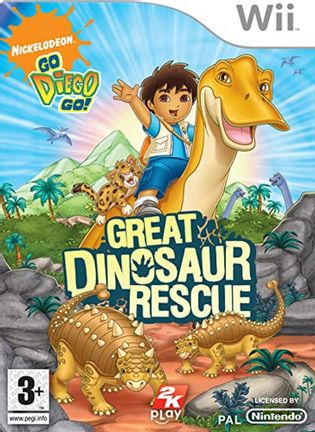 Wii Nickelodeon Go, Diego, Go!: Great Dinosaur Rescue Game