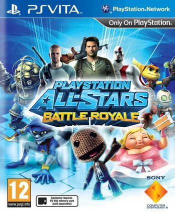 PSV Playstation All-Stars Battle Royale