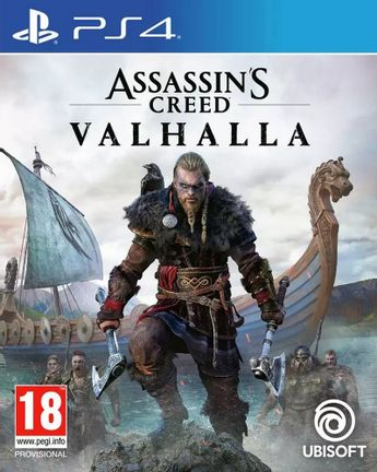 PS4 Assassin's Creed Valhalla incl. Russian Audio