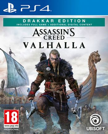 PS4 Assassin's Creed Valhalla Drakkar Edition incl. Russian Audio