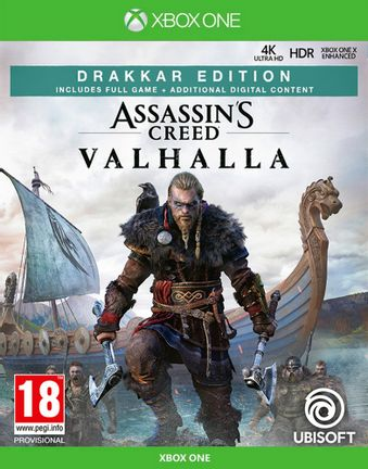 Xbox One Assassin's Creed Valhalla Drakkar Edition incl. Russian Audio