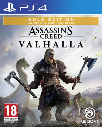 PS4 Assassin's Creed Valhalla Gold Edition incl. Season Pass