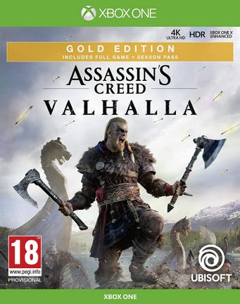 Xbox One Assassin's Creed Valhalla Gold Edition incl. Season Pass