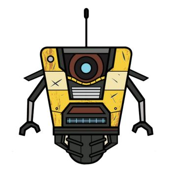 Stubbins: Borderlands 3 - Claptrap Plush, 16cm