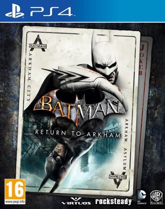 PS4 Batman: Arkham Asylum [USED] (Grade A)