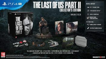 PS4 Last of Us Part II Collector's Edition