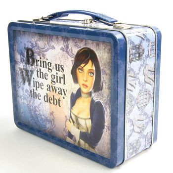 Bioshock Infinite - Elizabeth Tin Lunch Box