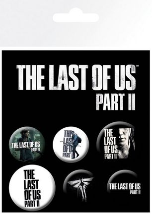Badges 6-Pack - Last of Us Part II, 2x32mm x 4x25mm