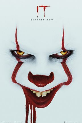 Poster It Chapter Two - Pennywise Face, 61x91.5cm