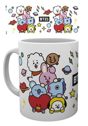 BT21 - Character Stack Mug, 300ml