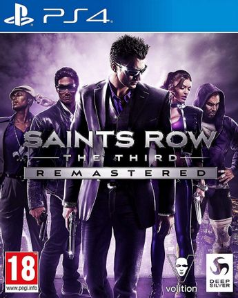 PS4 Saints Row: The Third Remastered
