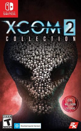 SWITCH XCOM 2 Collection incl. War of the Chosen Expansion and 4 DLC US Version