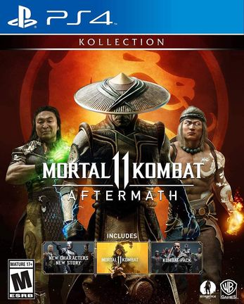 PS4 Mortal Kombat 11: Aftermath Kollection US Version