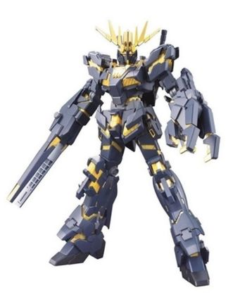 Gundam High Grade: Universal Century - RX-0 Unicorn Gundam 02 Banshee Model Kit, 1:144 Scale