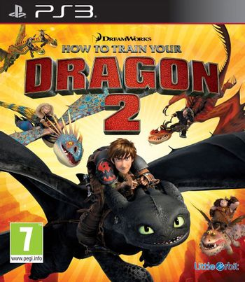 PS3 DreamWorks How To Train Your Dragon 2 [USED] (Grade B)