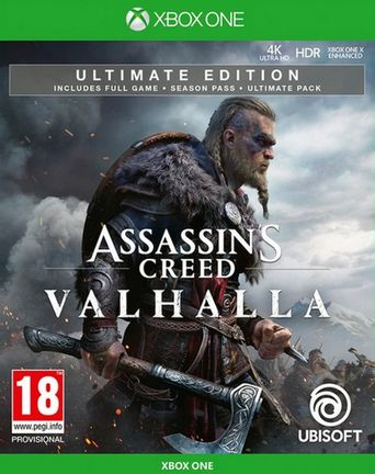 Xbox One Assassin's Creed Valhalla Ultimate Edition incl. Season Pass and Ultimate Pack