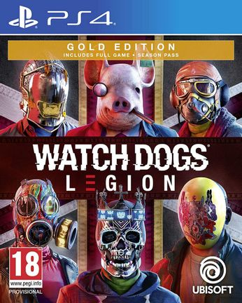 PS4 Watch Dogs Legion Gold Edition incl. Season Pass