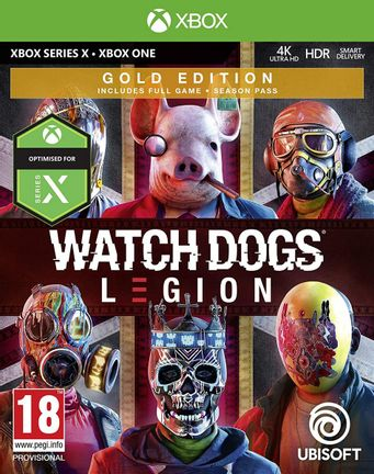 Xbox One Watch Dogs Legion Gold Edition incl. Season Pass