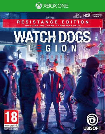 Xbox One Watch Dogs Legion Resistance Edition