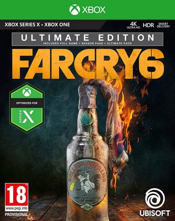 Xbox One Far Cry 6 Ultimate Edition incl. Season Pass and Ultimate Pack