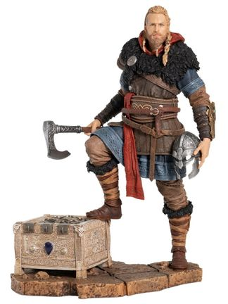 Ubi Collectibles: Assassin's Creed Valhalla - Eivor The Wolf-Kissed Figurine, 25cm