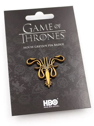 Game of Thrones - House Greyjoy Pin Badge