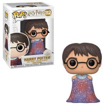 POP! Harry Potter - Harry Potter with Invisibility Cloak Vinyl Figure