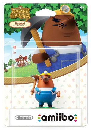 Amiibo Animal Crossing - Resetti