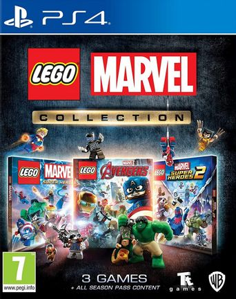 PS4 LEGO Marvel Collection incl. Avengers, Super Heroes and Super Heroes 2