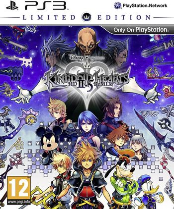 PS3 Kingdom Hearts: HD 2.5 Remix Limited Edition