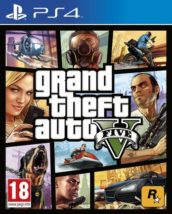 PS4 Grand Theft Auto V (GTA 5) [USED] (Grade A)