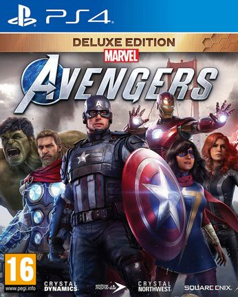 PS4 Marvel's Avengers Deluxe Edition