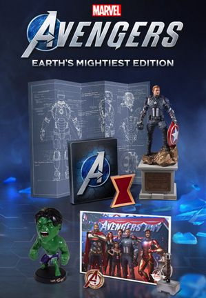 PS4 Marvel's Avengers Earth's Mightiest Edition