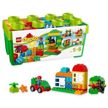 LEGO Duplo - My First All-in-One Box of Fun, 65 Pieces