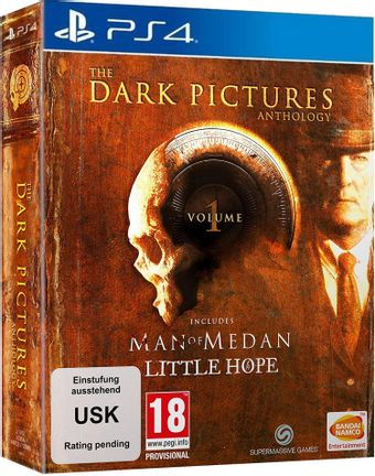 PS4 Dark Pictures Anthology Volume 1: Man of Medan and Little Hope Limited Edition