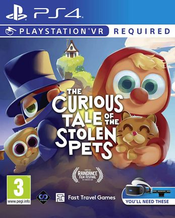 PS VR Curious Tale of the Stolen Pets