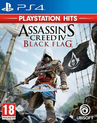 PS4 Assassin's Creed IV: Black Flag [USED] (Grade B)