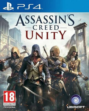 PS4 Assassin's Creed Unity [USED] (Grade A)