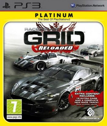 PS3 Race Driver: Grid Reloaded [USED] (Grade A)