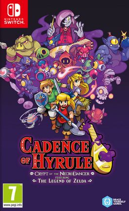 SWITCH Cadence of Hyrule – Crypt of the NecroDancer Featuring The Legend of Zelda